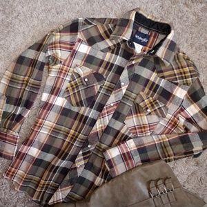 Wrangler 100% cotton flannel